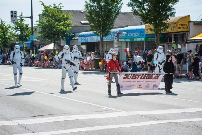 Hollywood takes over Burnaby Heights at Hats Off Day