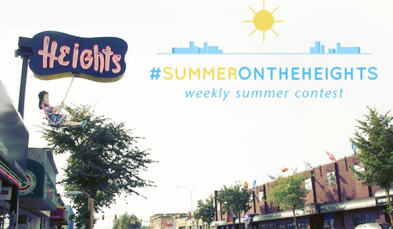 #SummerOnTheHeights Weekly Contest