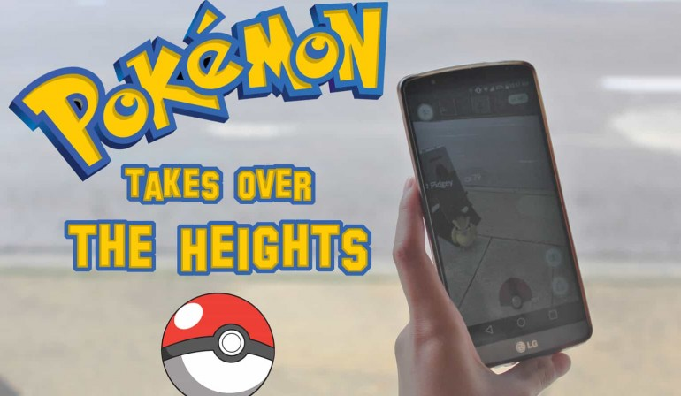Pokémania has Taken Over the Heights!