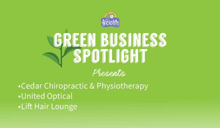 Let the Green Business Spotlight begin