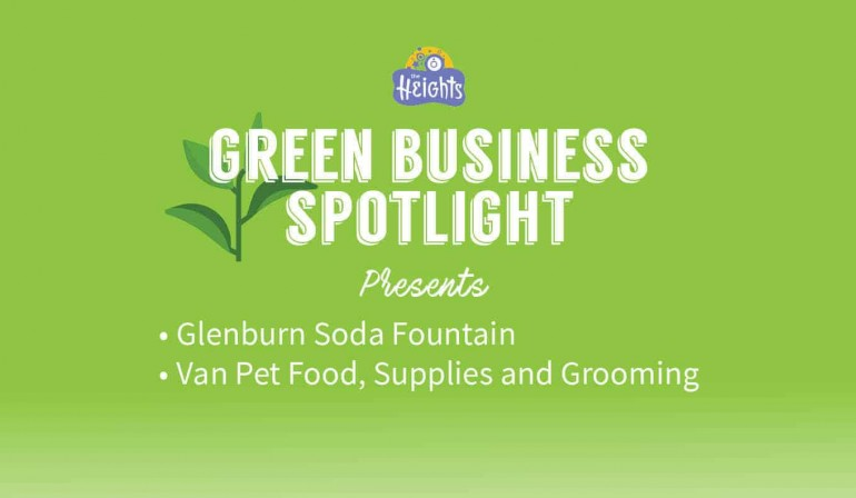 Green business practices help keep useful items out of landfills