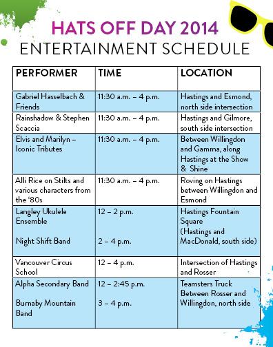 HOD entertainment 2014