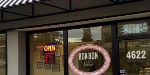 Bon Bon Bakery Store entrance