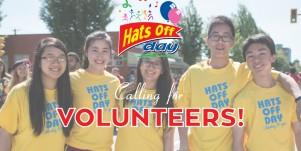 Hats Off Day Volunteers