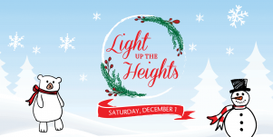 Light up the Heights – Saturday, Dec. 1