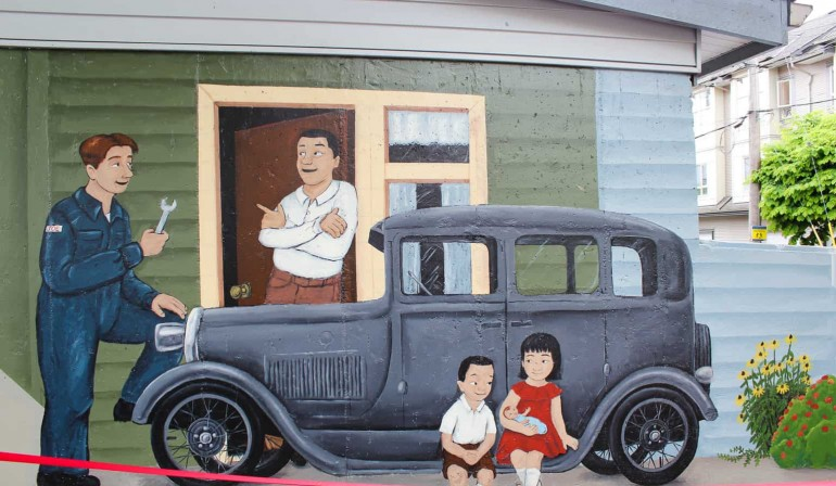 """Restoring and Extending the """"History of the Heights"""" Mural"""